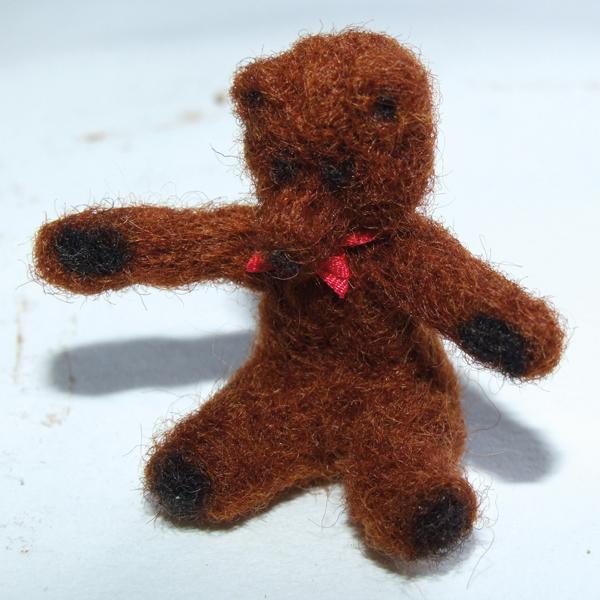 finished-needle-felted-miniature-bear-with-ribbon