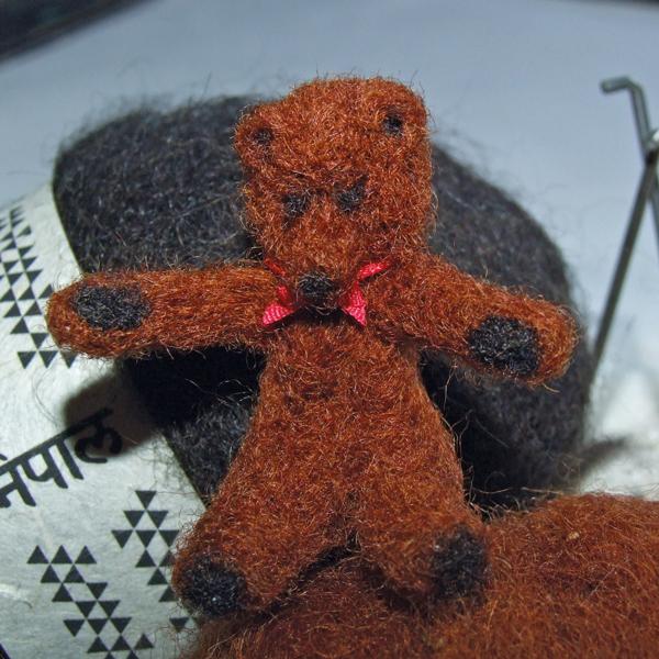 finished-needle-felted-miniature-bear