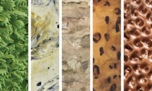 fondant cake textures