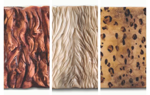 fur cake textures