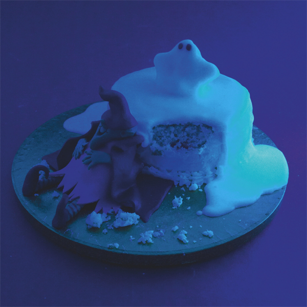 Glow in the dark cake