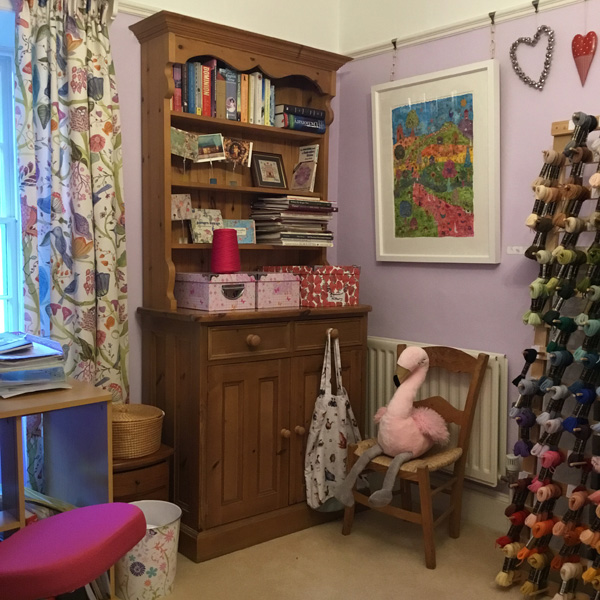 Bothy Threads craft room