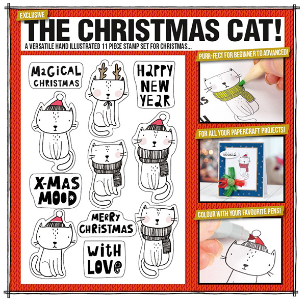 making-cards-magazine-Christmas-Cat-stamp-set