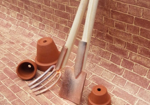 miniature-copper-spade-and-fork