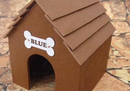 miniature dog kennel polymer clay