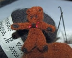 miniature-needle-felted-teddy-bear