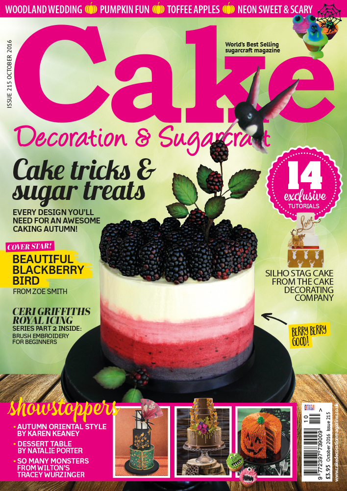 Cake Decoration & Sugarcraft October 2016