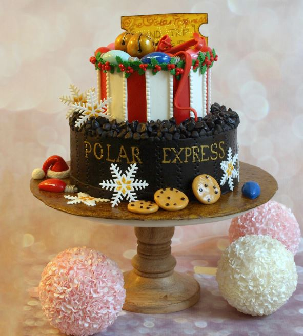 Awesome Novelty Christmas Cakes Home For The Holidays Collaboration Funny Birthday Cards Online Fluifree Goldxyz