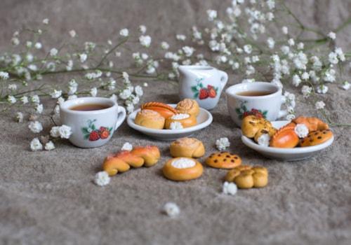 polymer clay tea set