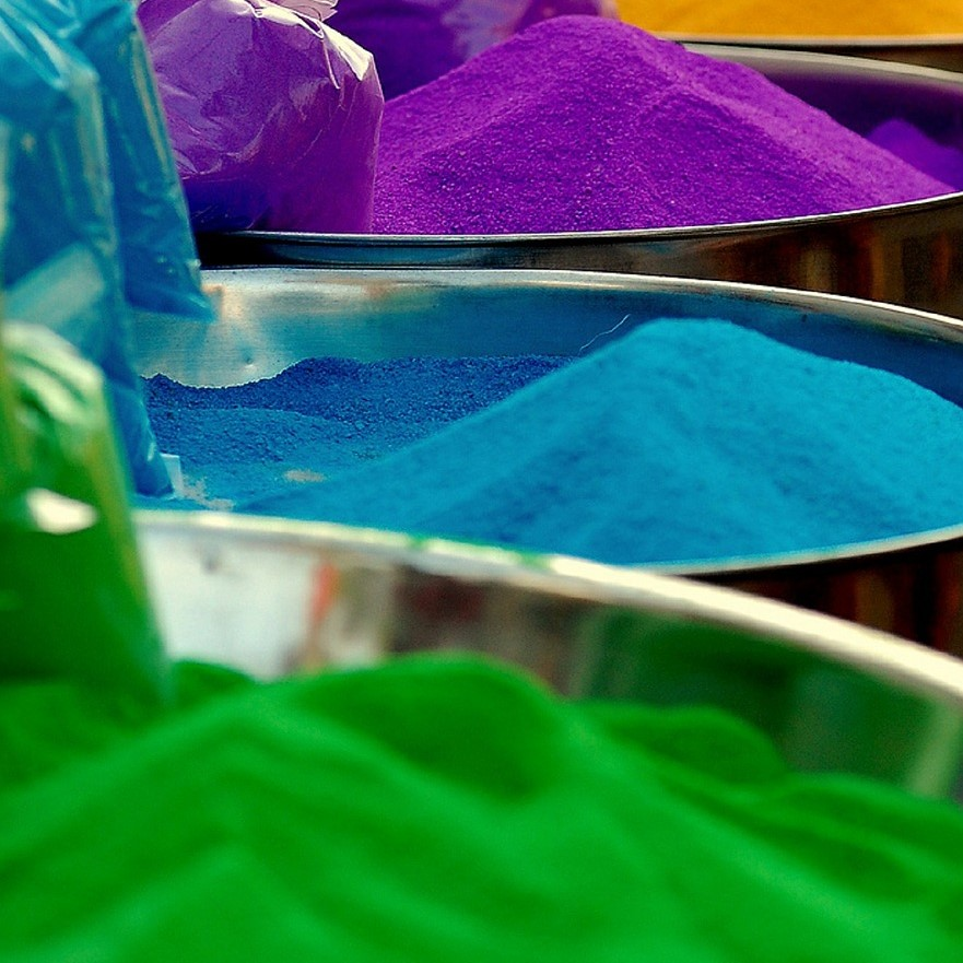 Powdered dye