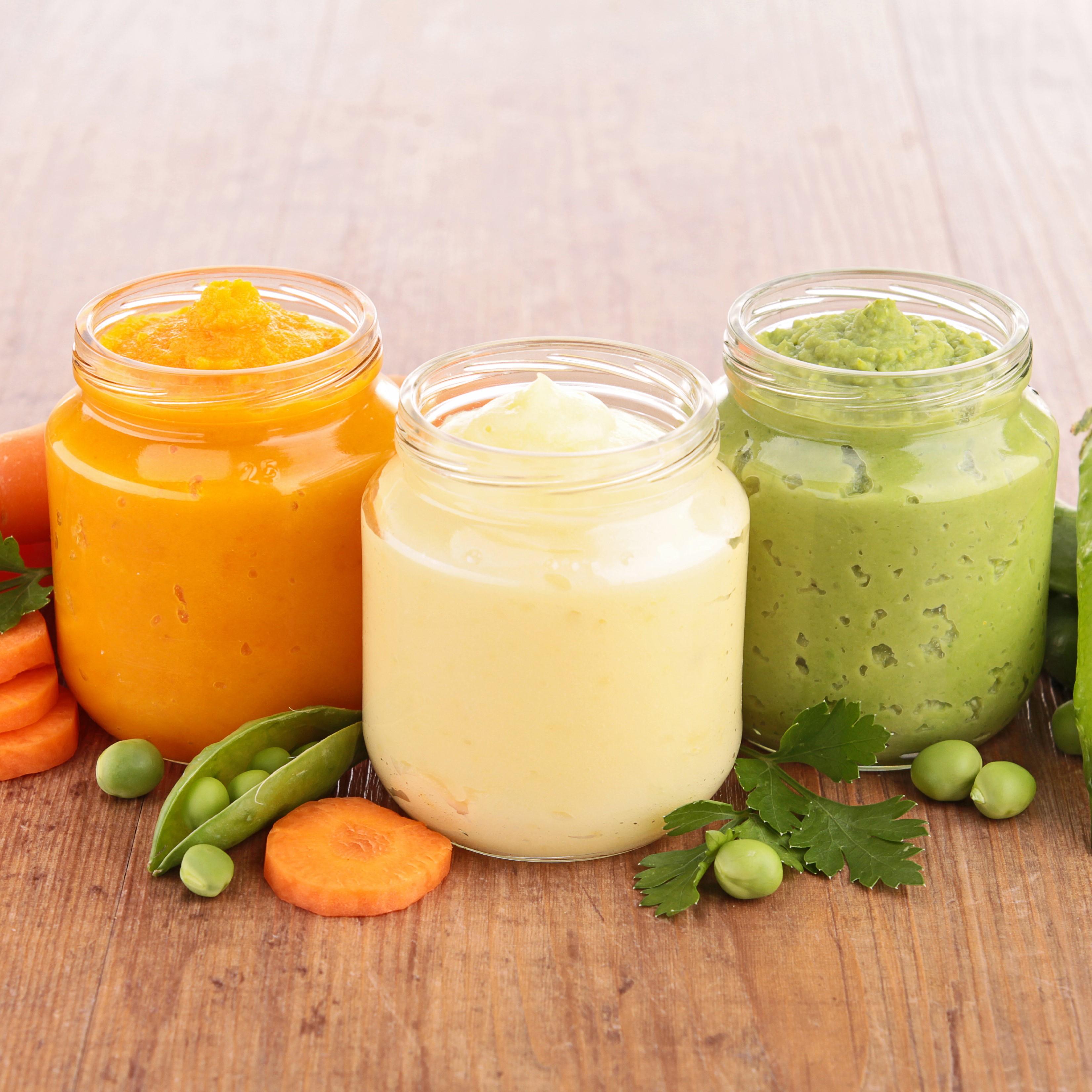 Vegetable puree