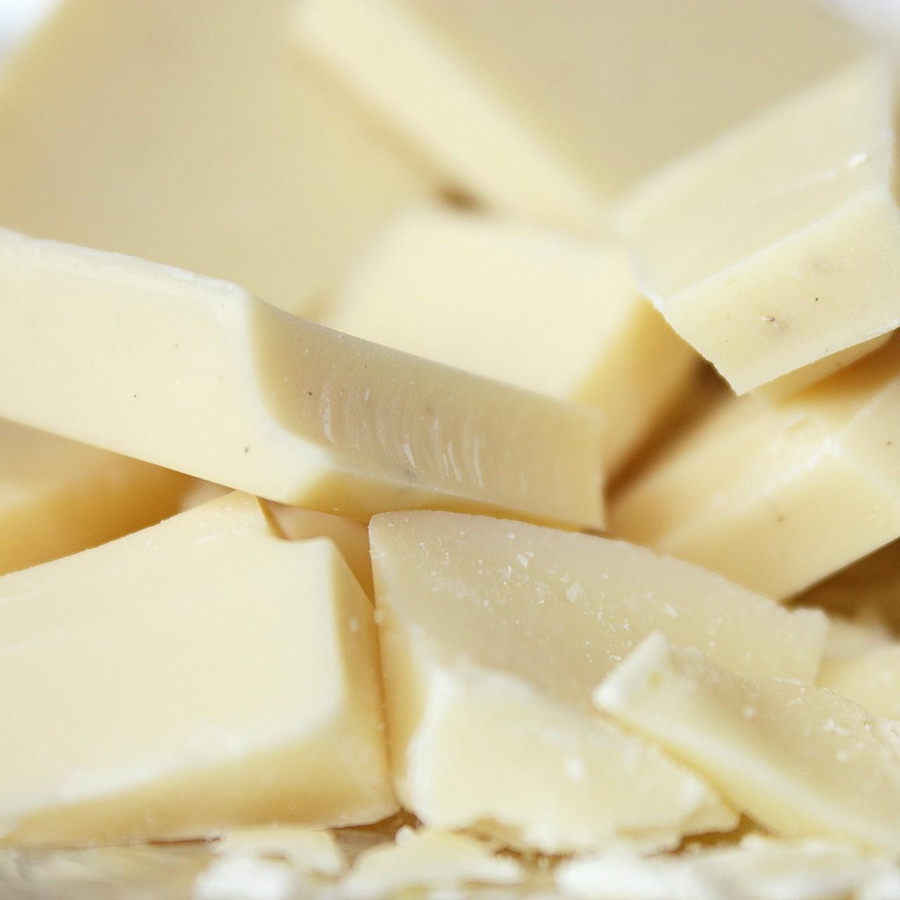 White chocolate chunks