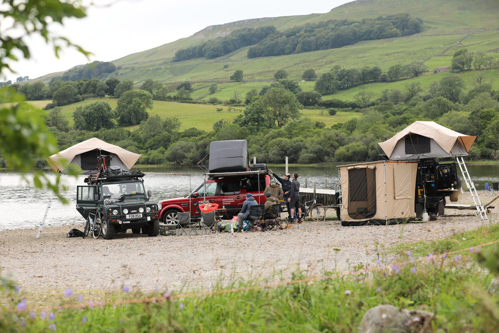 Land Rover Monthly wild camping in the Yorkshire Dales ...
