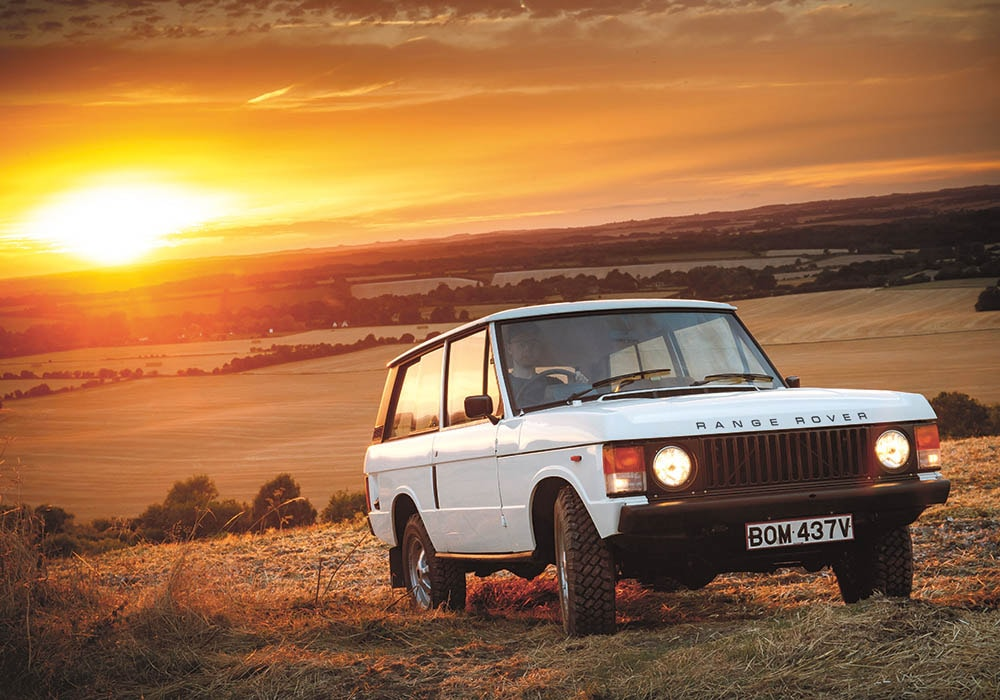 Range Rover Classic front reference for Range Rover Reborn Programme
