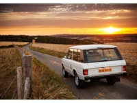 Range Rover Classic rear reference for Range Rover Reborn Programme