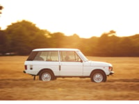 Range Rover Classic side reference for Range Rover Reborn Programme