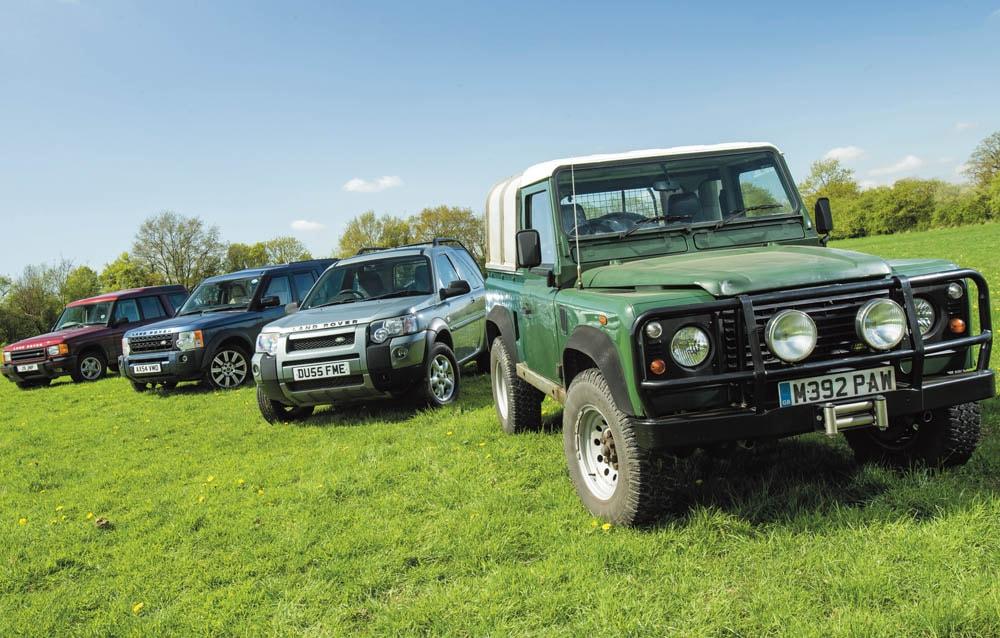 Best used Land Rover 2018 Defender 90, Freelander 1, Discovery 2 & 3