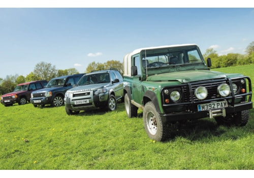 Best used Land Rover 2018 Defender 90, Freelander 1, Discovery 2 & 3