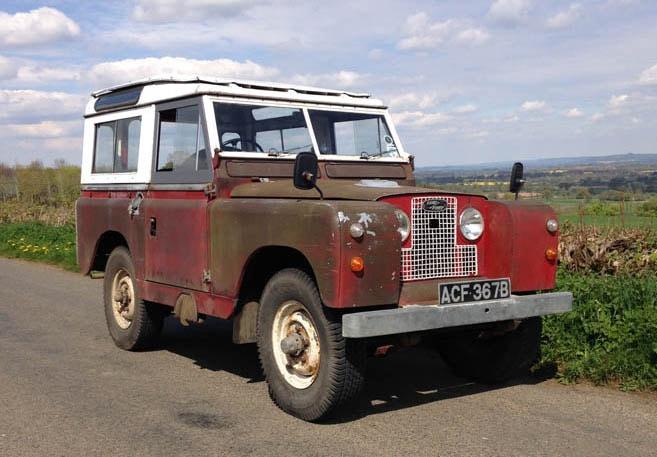 1964 Series IIA restoration
