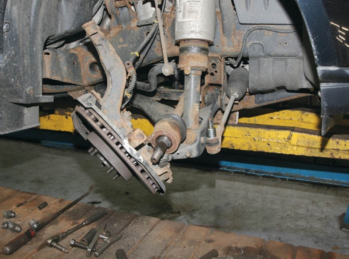 Discovery 4 Front Drive Halfshafts