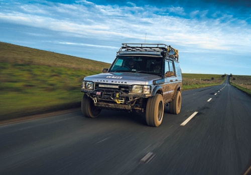£5000 Land Rover Discovery 2 transformation front three-quarter