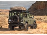 Land Rover Defender rear three-quarter