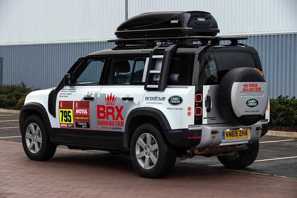 Defender Support vehicle Dakar 2021