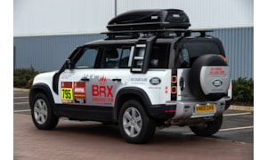 Defender Support vehicle Dakar 2021
