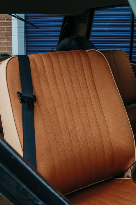 Range Rover Classic Front Seat Trim Kit