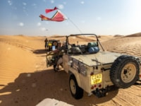 Land Rover defender wolf search WWII lost patrol Tunisia Libya desert
