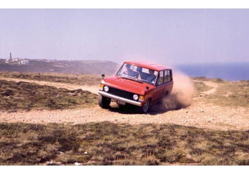 Legend Geof Miller Range Rover launch engineer
