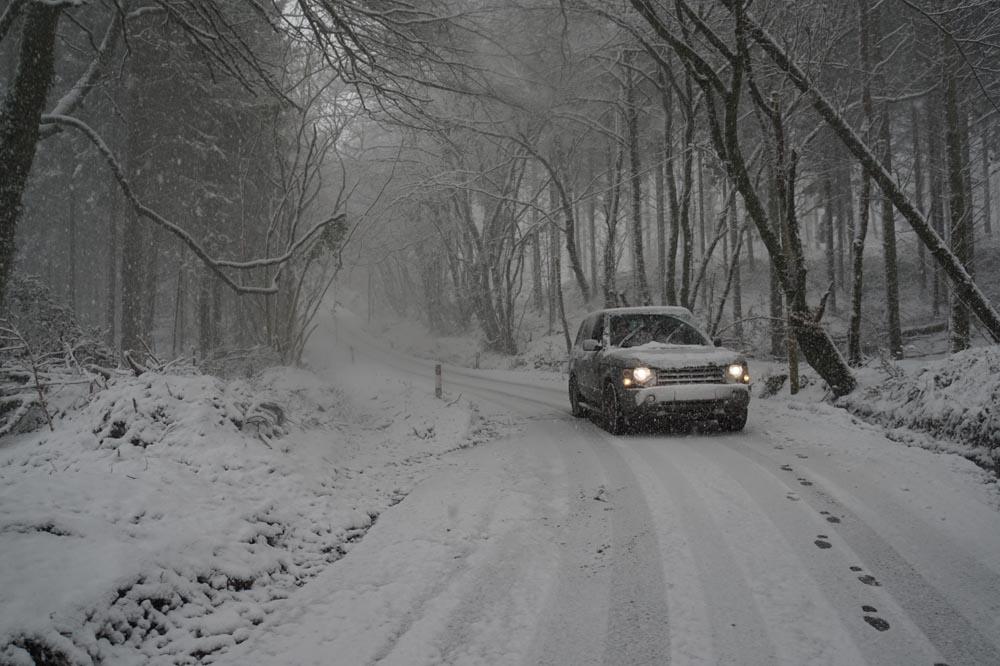 Range Rover L322 snow