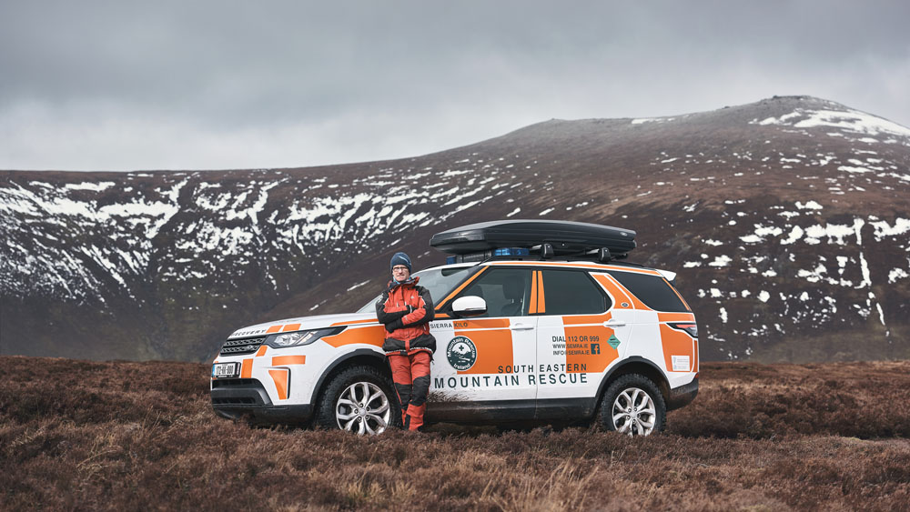 Ireland's South Eastern Mountain Rescue Association (SEMRA) have been using Land Rovers for twenty years now and they recently completed their landmark 500th rescue using a specially-prepared  latest Discovery.