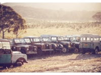 Land Rover Heaven Series Land Rovers
