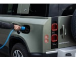 Land Rover Defender P400e Plug-in hybrid charging