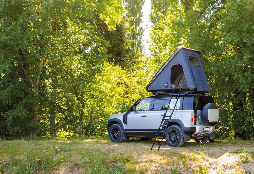 Official roof tent for new Defender