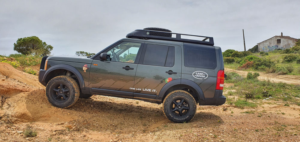 Land Rover Discovery 3 in Portugal