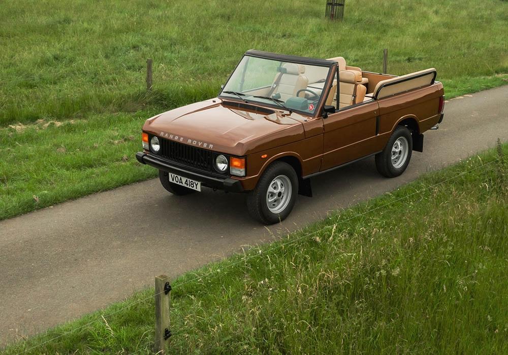 Range Rover Classic Open Top front three-quarter