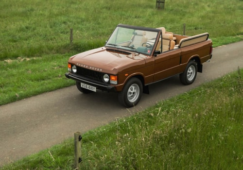Range Rover Classic Open Top front three-quarter