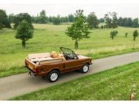 Range Rover Classic Open Top rear three-quarter