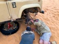 Land Rover Series III Wolf search WWII lost patrol Tunisia Libya desert