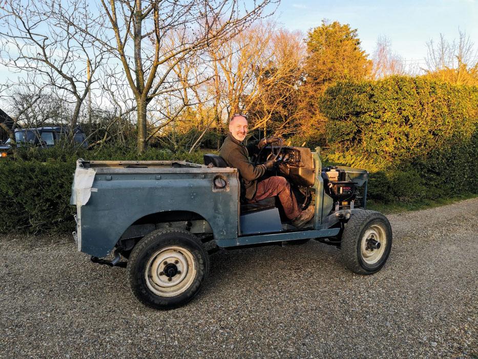 Series III Land Rover restoration