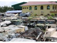 SVK Trading, Land Rover graveyard