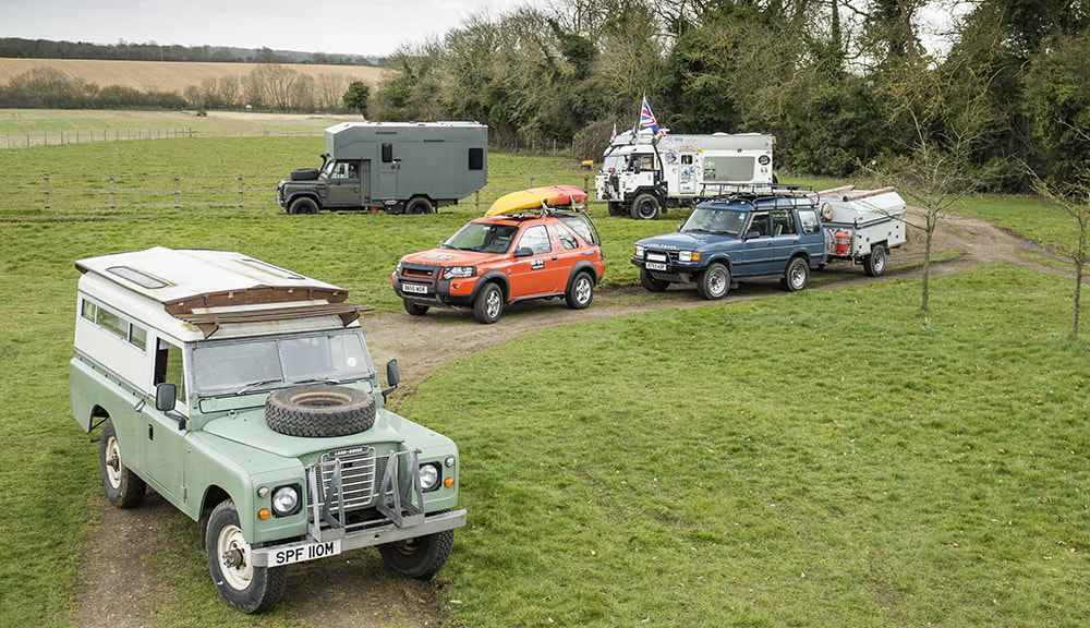 Best Land Rover Campers