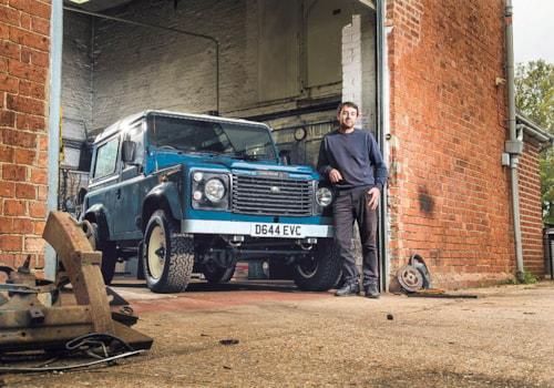 Land Rover Defender Ninety front-three quarter