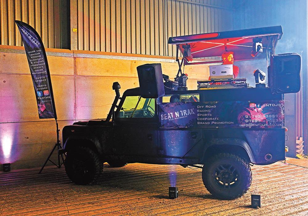 Beat N Trak DJs Land Rover Defender