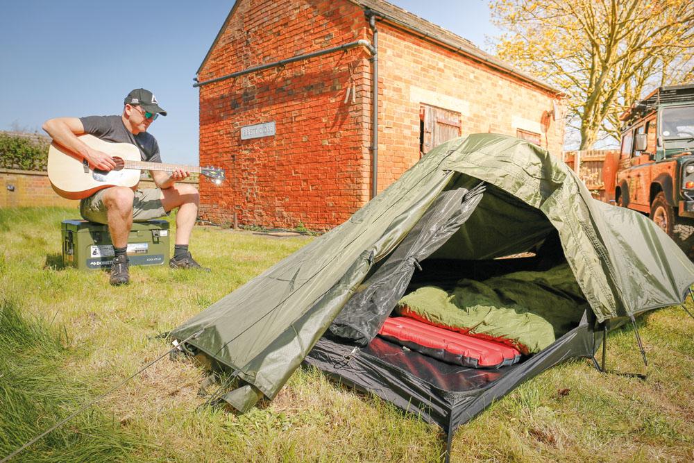 snugpak camping tent