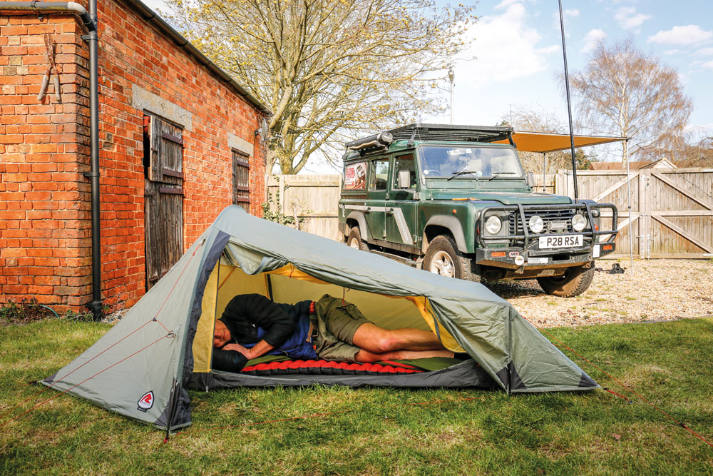 robens camping tent