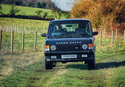 Range Rover Classic front