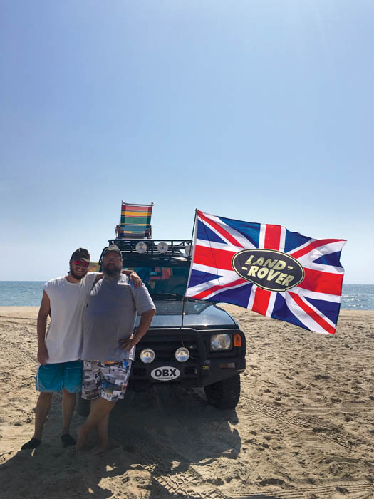 American Land Rover fans